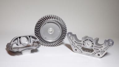 Aluminiumfeingussteile mit mech. Nachbearbeitung